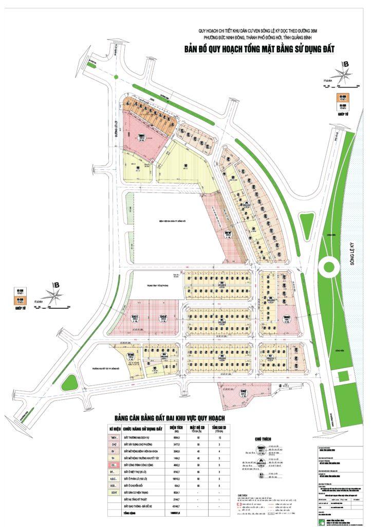 Thông báo bán đấu giá đất Dự án Khu dân cư ven sông Lệ Kỳ dọc theo tuyến đường 36m (Đồng Hới)