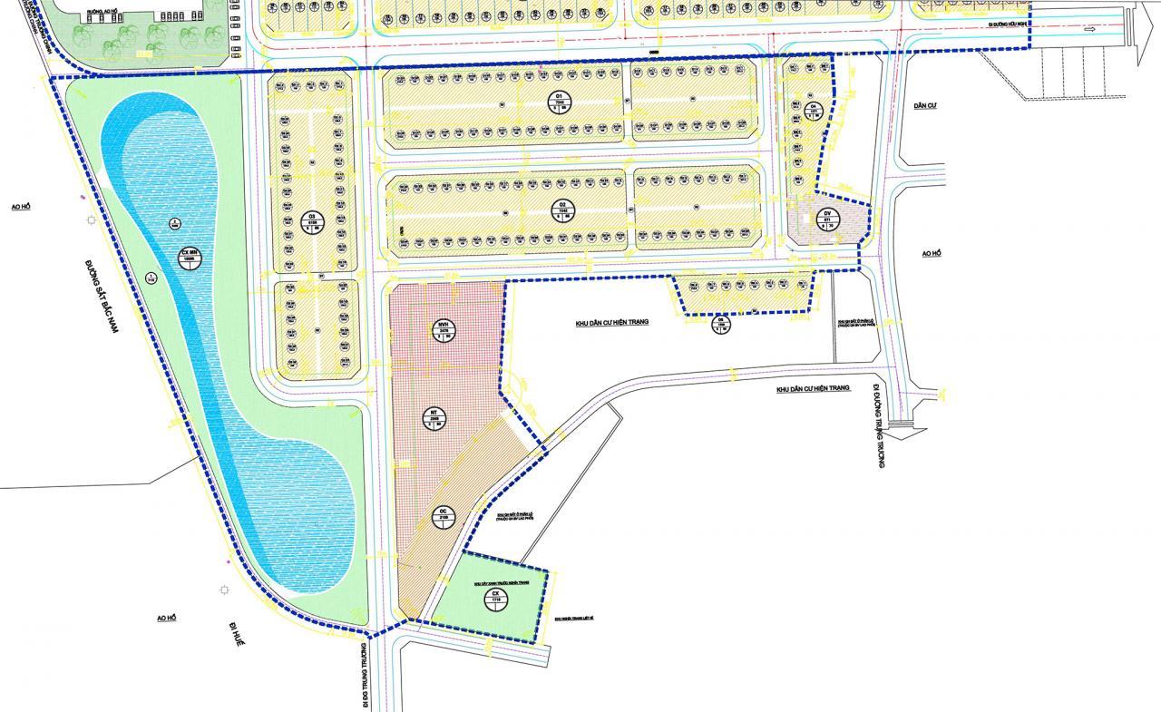 Thông báo giao đất không thông qua đấu giá 48 lô đất ở thuộc Dự án KDC phía Tây đường Hữu Nghị, TP Đồng Hới