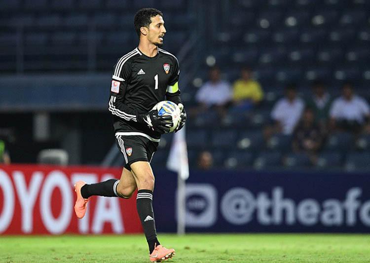 Thủ môn UAE quyết giữ sạch lưới trước Jordan