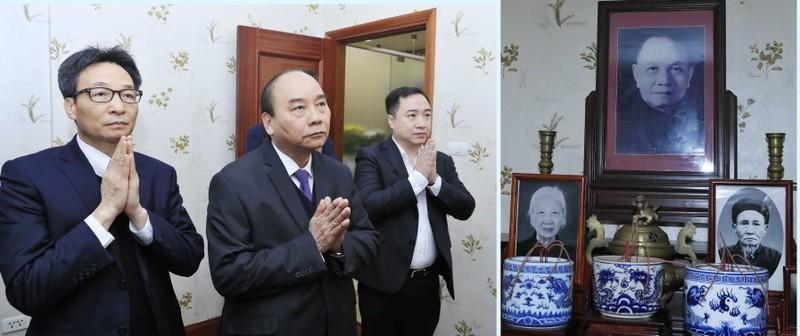 Thủ tướng dâng hương tưởng nhớ các lãnh đạo Đảng, Nhà nước đã từ trần