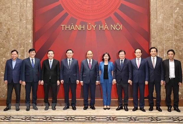 Thủ tướng: Hà Nội chú trọng hơn nữa việc phát triển thành phố vệ tinh