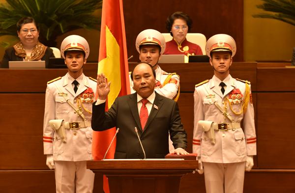 Thủ tướng Nguyễn Xuân Phúc tuyên thệ nhậm chức