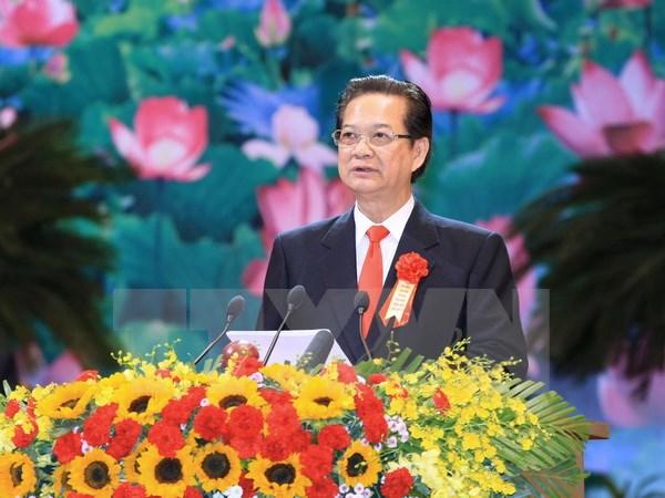 Thủ tướng phát biểu khai mạc Đại hội Thi đua yêu nước toàn quốc