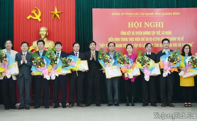 Tiếp tục nâng cao năng lực lãnh đạo và sức chiến đấu của Đảng bộ, góp phần đưa Quảng Bình phát triển nhanh và bền vững