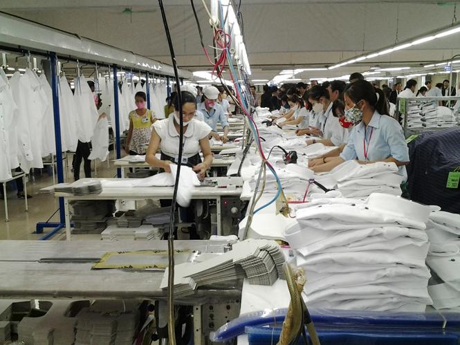 Tín hiệu vui từ ngành dệt may Quảng Bình