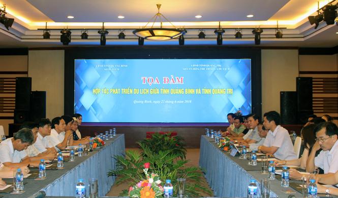 Toạ đàm hợp tác phát triển du lịch Quảng Bình-Quảng Trị