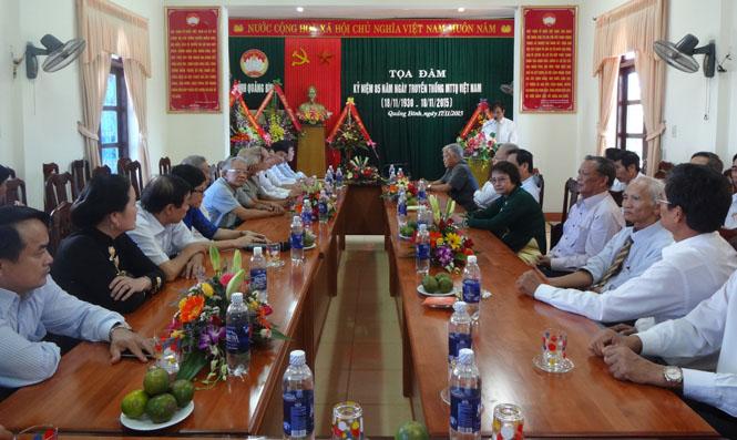 Tọa đàm kỷ niệm 85 năm ngày truyền thống Mặt trận Tổ quốc Việt Nam