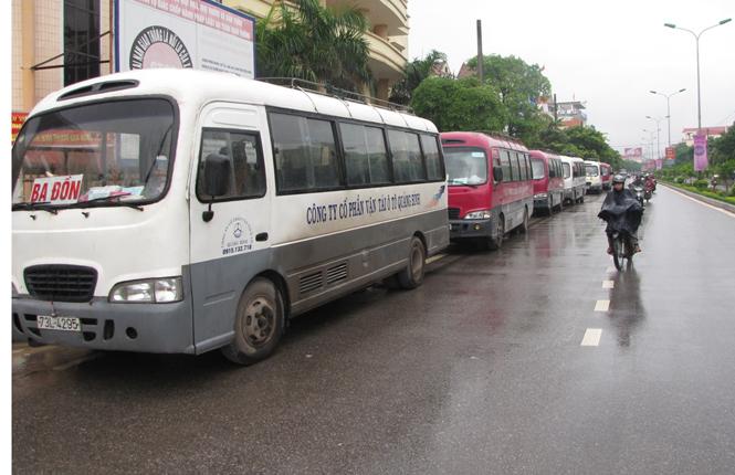 Toàn tỉnh có 215 xe ô tô chở khách tuyến cố định