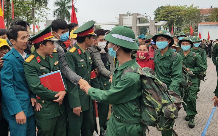 Toàn tỉnh hoàn tất công tác giao nhận quân