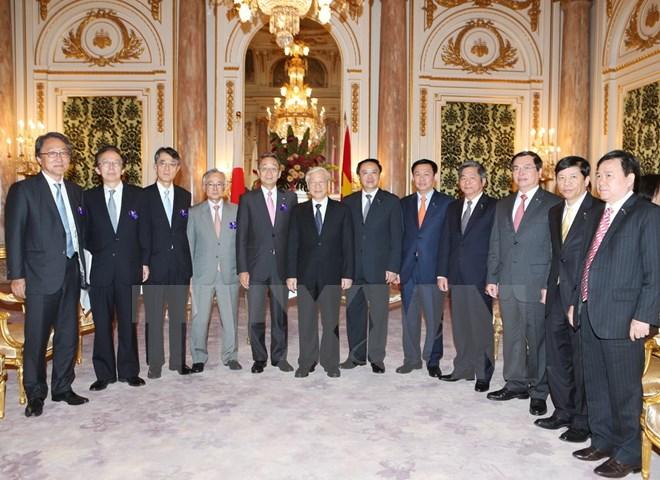 Tổng Bí thư: Nhiều cơ hội mới cho doanh nghiệp Việt Nam-Nhật Bản
