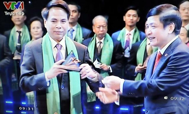 Tổng công ty Sông Gianh được trao giải thưởng Sao Vàng đất Việt năm 2015
