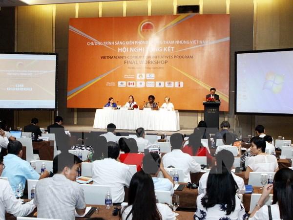 Tổng kết Chương trình Sáng kiến Phòng, chống tham nhũng Việt Nam