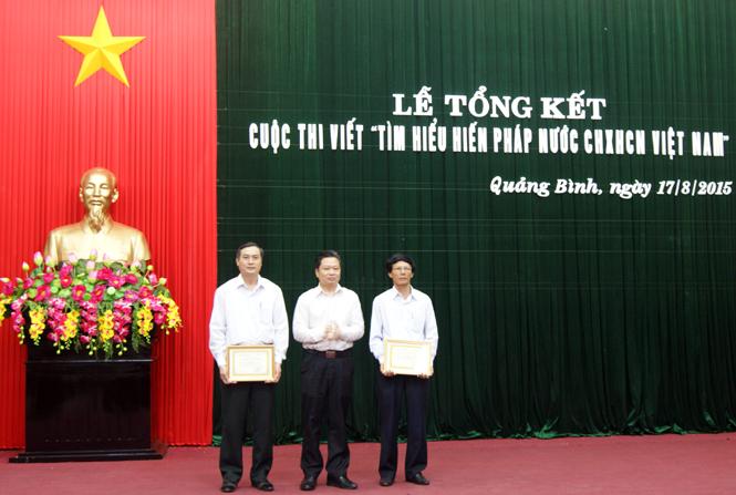 """Tổng kết cuộc thi viết """"Tìm hiểu Hiến pháp nước Cộng hòa xã hội chủ nghĩa Việt Nam"""""""