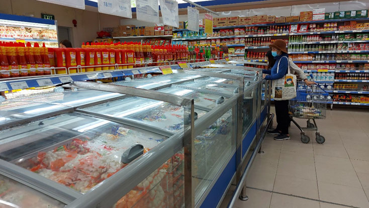 Tổng mức bán lẻ hàng hóa, doanh thu dịch vụ quý I-2021 tăng 7,1% so với cùng kỳ