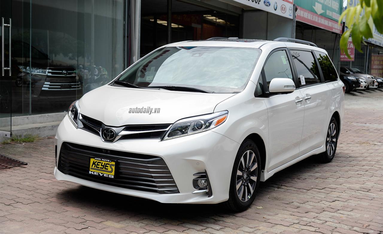 Toyota Sienna Limited 2018 về Việt Nam, giá hơn 4 tỷ đồng