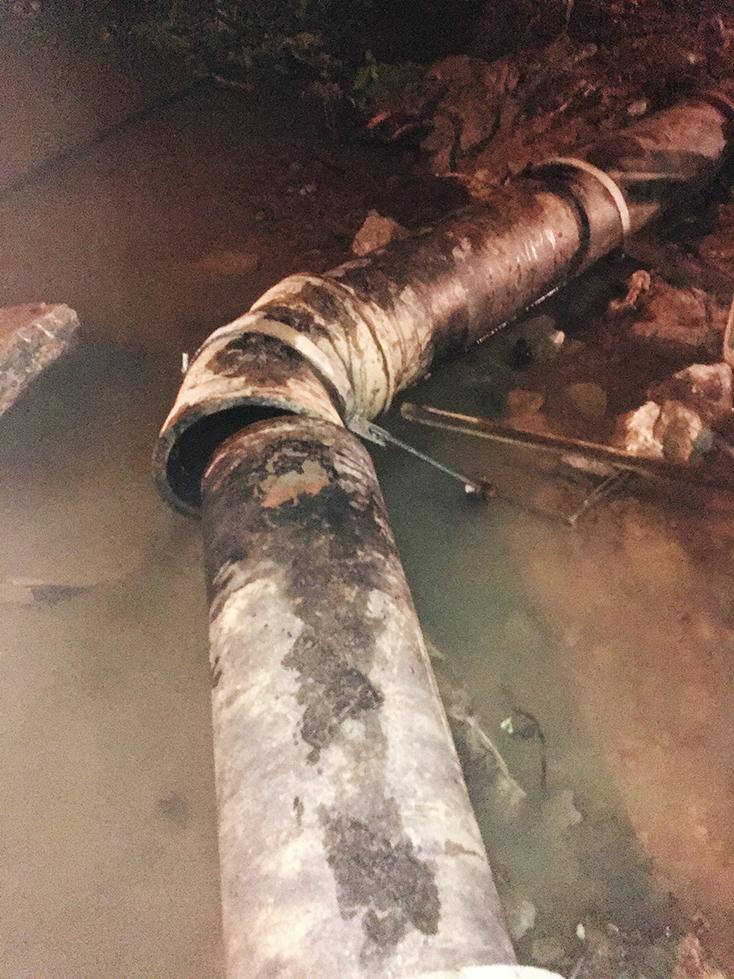 TP. Đồng Hới: Mất nước là do đường ống bị sự cố