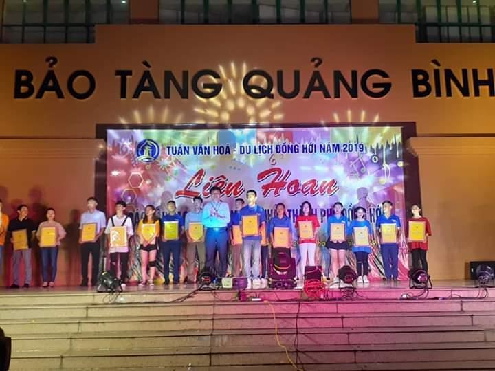 TP. Đồng Hới: Nhóm nhảy phường Bắc Lý đạt giải nhất tại liên hoan dân vũ