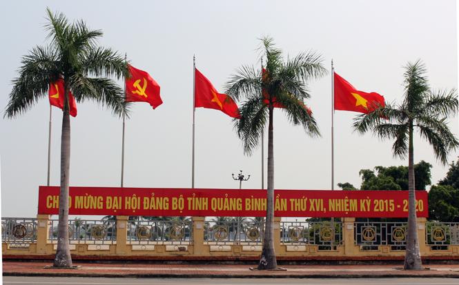 TP Đồng Hới trước ngày diễn ra Đại hội Đảng bộ tỉnh lần thứ XVI