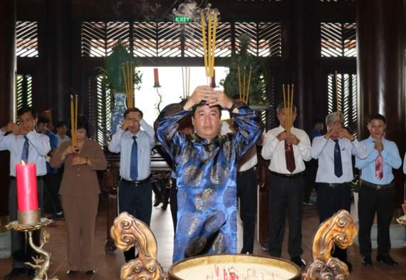 TPHCM tổ chức Lễ Giỗ lần thứ 317 Đức Lễ Thành Hầu Nguyễn Hữu Cảnh