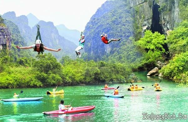 Trải nghiệm đủ 8 hoạt động khi đến Quảng Bình