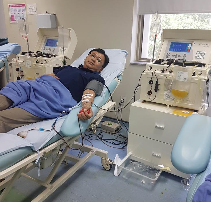Trần Văn Nho-gương sáng hiến máu tình nguyện