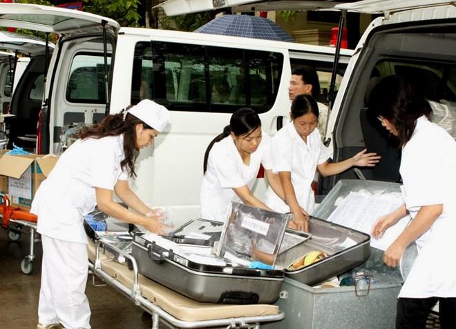 Triển khai công tác y tế phục vụ Đại hội Đảng lần thứ XII