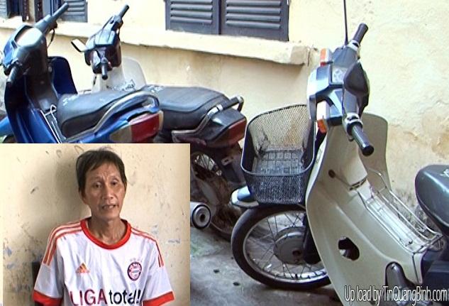 Trộm xe máy của người đi chợ để... bán phế liệu