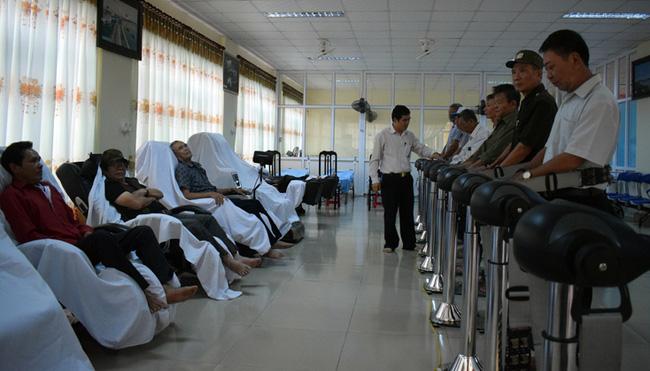 Trung tâm Điều dưỡng luân phiên người có công tỉnh Quảng Bình: Xây dựng