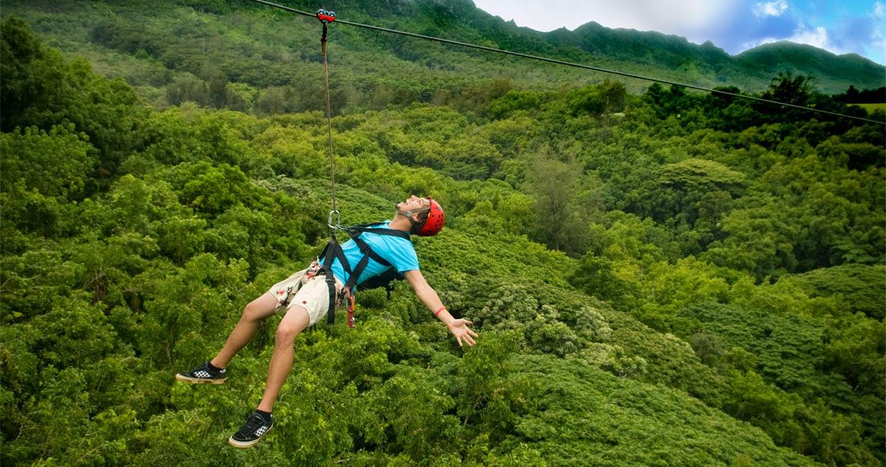 Trung tâm Du lịch Phong Nha - Kẻ Bàng: Đưa hệ thống đu dây trên không Zip-line vào khai thác