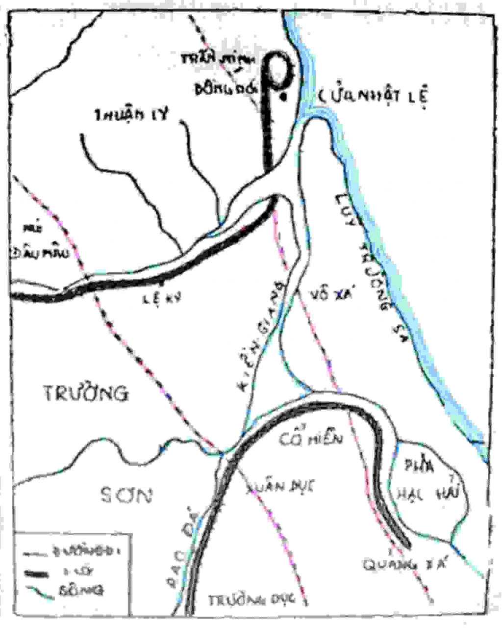 Thế trận lũy Trường Dục - đầm lầy Võ Xá - Dinh Mười nỗi kinh hoàng của quân Trịnh
