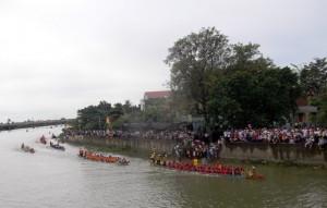 Tưng bừng lễ hội đua, bơi thuyền truyền thống mừng Tết Độc lập