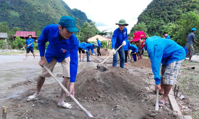 Tuổi trẻ Quảng Ninh tiếp lửa xây dựng nông thôn mới