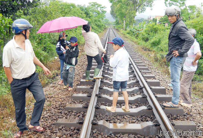 Tuyên Hoá: Tai nạn giao thông đường sắt làm 1 người chết
