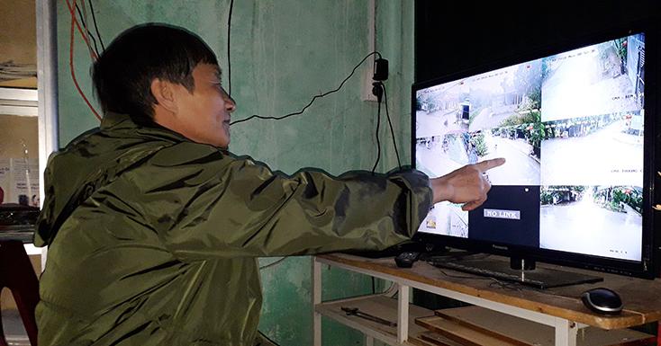 Tuyên Hóa: Người dân góp tiền lắp camera an ninh