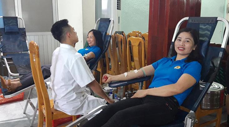 Tuyên Hóa: Tổ chức hiến máu tình nguyện đợt I-2019