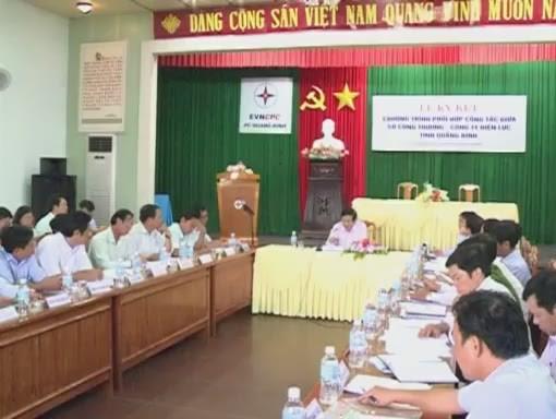 UBND tỉnh làm việc với Công ty Điện lực Quảng Bình