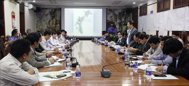 UBND tỉnh làm việc với Công ty TNHH Petro Lào về Dự án đường ống dẫn xăng dầu
