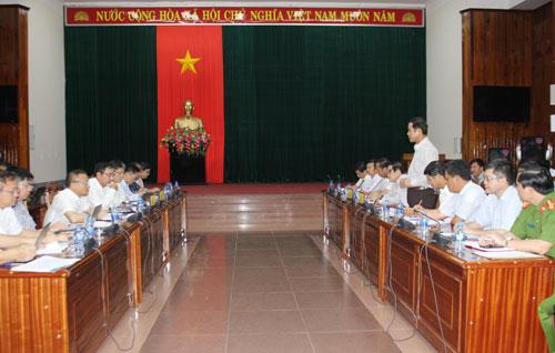 UBND tỉnh làm việc với Tập đoàn Điện lực Việt Nam