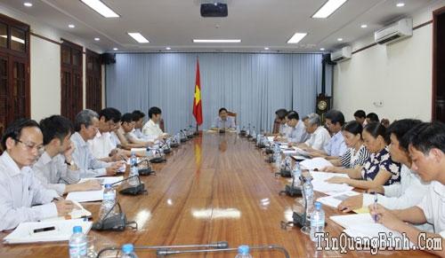 UBND tỉnh thẩm định Đề án sắp xếp, đổi mới Công ty TNHH MTV Lệ Ninh