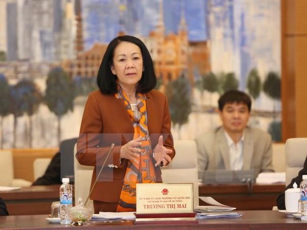 UBTVQH thông qua dự thảo Nghị quyết ban hành quy chế làm việc