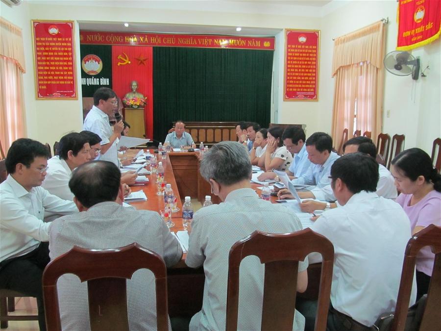 Ủy ban MTTQ tỉnh Quảng Bình: Xây dựng Đề án hỗ trợ 1.000 con bò cái sinh sản cho hộ nghèo vùng lũ lụt, thiên tai