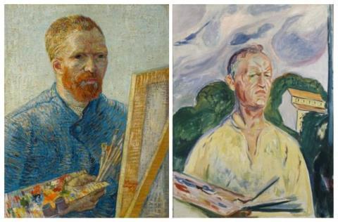 Van Gogh và Edvard Munch 'gặp gỡ lịch sử' trong triển lãm ở Hà Lan