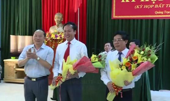 Vì sao 2 Chủ tịch huyện bị điều làm Phó sở ở Quảng Bình?