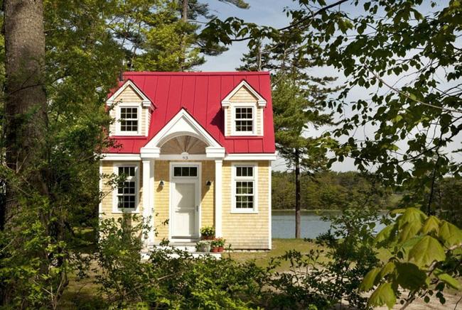Việc những ngôi nhà nhỏ mọc lên như nấm chứng minh phong cách sống tối giản đang lên ngôi