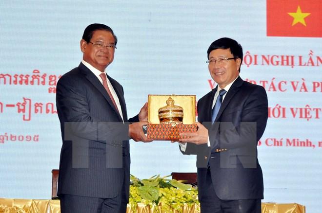 Việt Nam-Campuchia thông qua 16 điểm về hợp tác biên giới