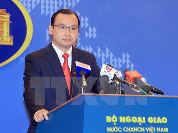 Việt Nam kiên quyết bác bỏ hành động xây hải đăng của Trung Quốc