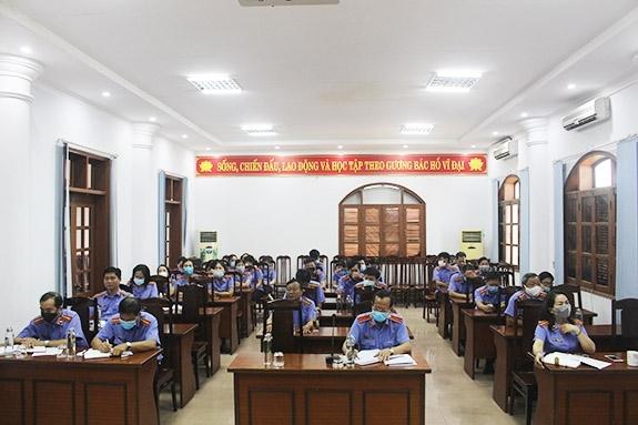 VKSND tỉnh Quảng Bình ban hành 10 kháng nghị, 34 kiến nghị trong lĩnh vực hình sự, dân sự