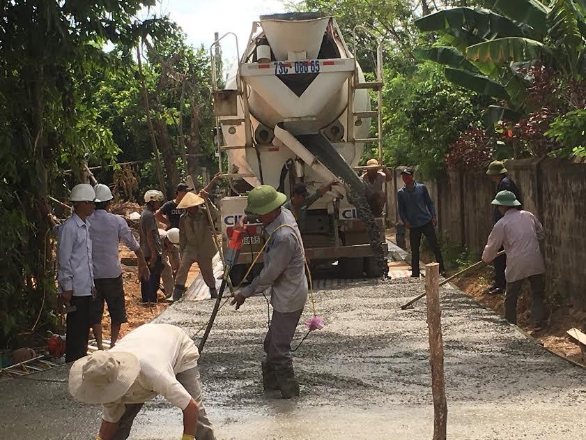 Xã Quảng Phương: Nỗ lực cán đích nông thôn mới