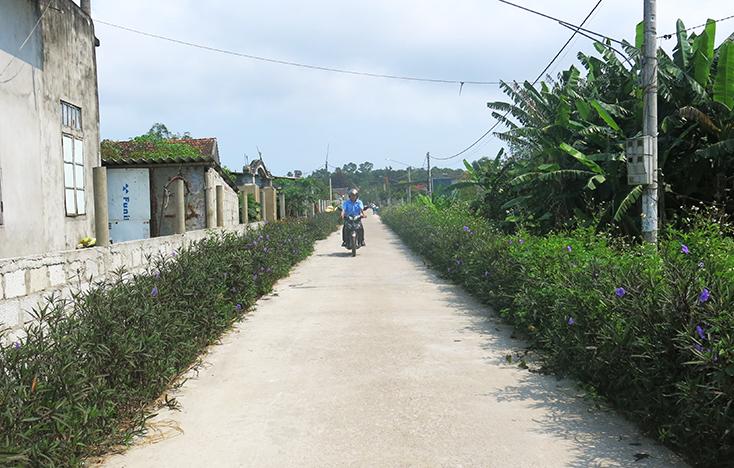 Xã Thanh Thủy: Hoàn thiện cơ sở hạ tầng, cán đích nông thôn mới