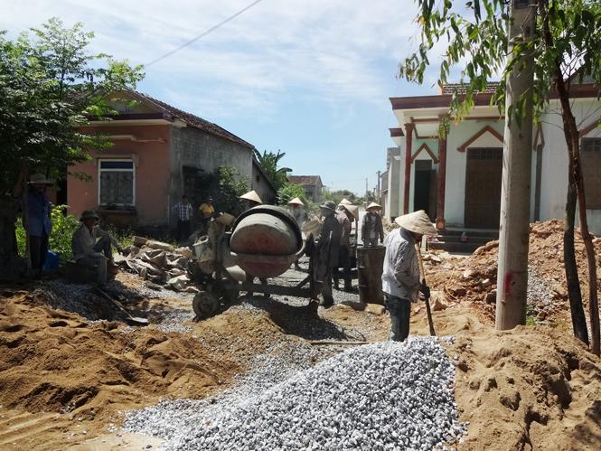 Xây dựng nông thôn mới: Dấu ấn cựu chiến binh